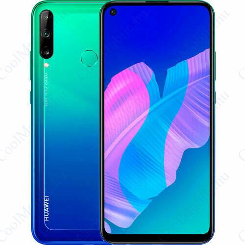 Huawei P40 Lite E 64GB Dual SIM, auróra kék, 2 év Gyártói garancia