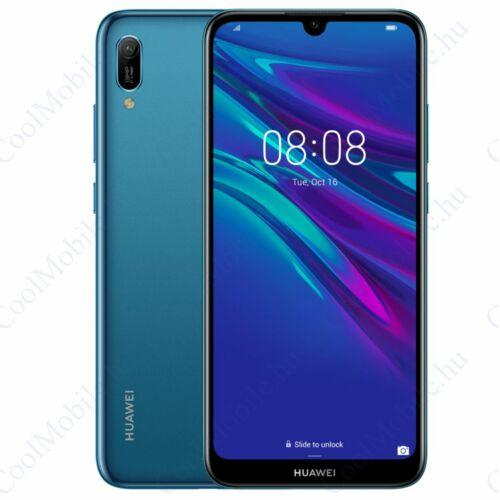 Huawei Y6 2019 32GB Dual, zafírkék, gyártói garancia