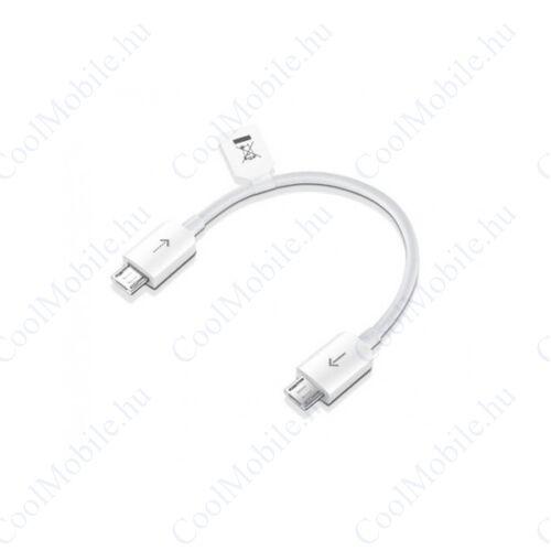 Huawei AF16 microUSB - microUSB kábel, fehér