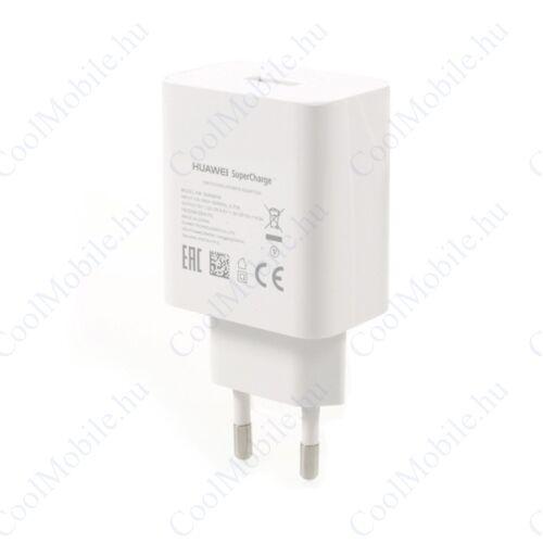 Huawei HW-050450E00 hálozati gyorstöltő adapter, 5V/4,5A, fehér, gyári, ECO csomagolásban