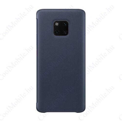 Huawei Mate 20 Pro Smart View Cover, gyári flip tok, kék