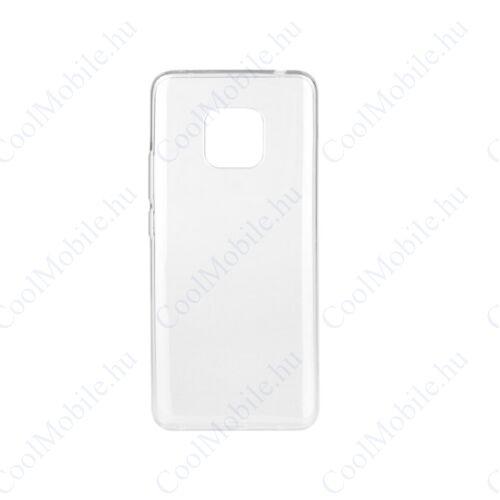 Huawei Mate 20 Pro Ultra Slim 0,3mm szilikon tok, átlátszó
