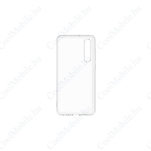 Huawei P30 Silicone Case, gyári szilikon tok, átlátszó
