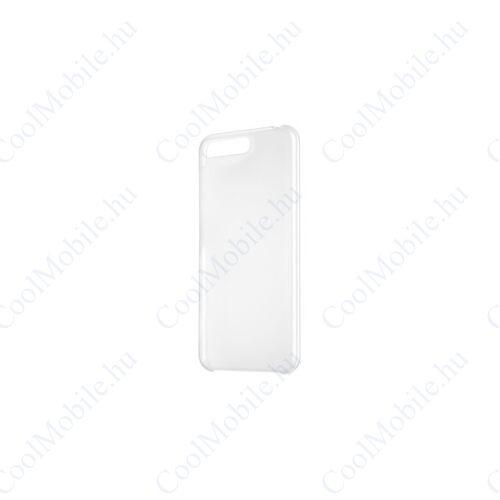 Huawei Y6 2018 PC Case, gyári műanyag tok, átlátszó