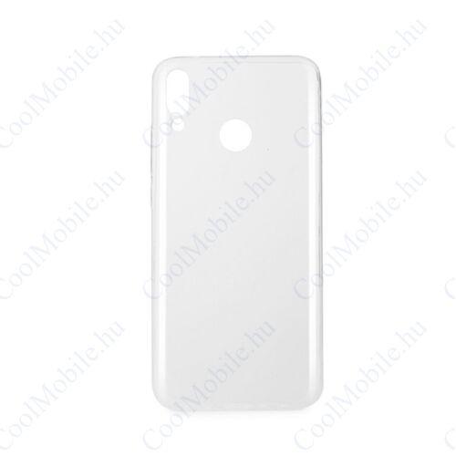 Huawei Y9 2019 Ultra Slim 0,3mm szilikon tok, átlátszó