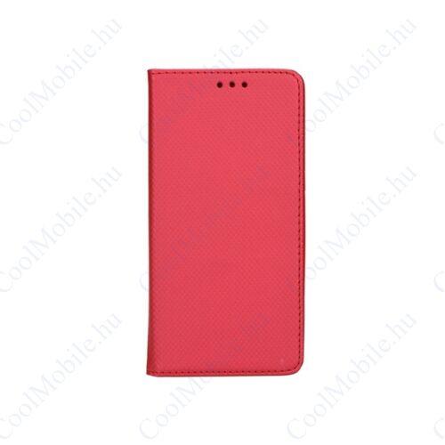 Magnet Apple iPhone 8/7 mágneses flip tok, piros
