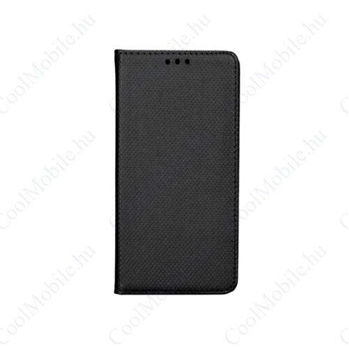 Magnet Huawei P10 Lite mágneses flip tok, fekete
