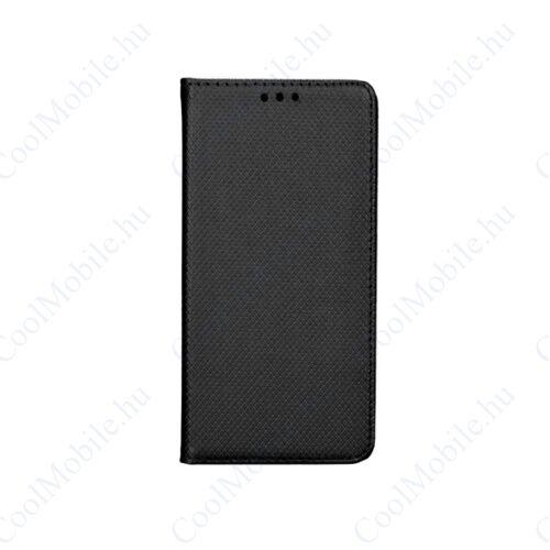 Magnet Huawei Y6 2017/Y5 2017 mágneses flip tok, fekete