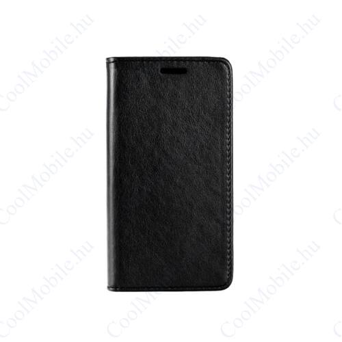 Magnet, Samsung Galaxy Xcover 4 mágneses flip tok, fekete