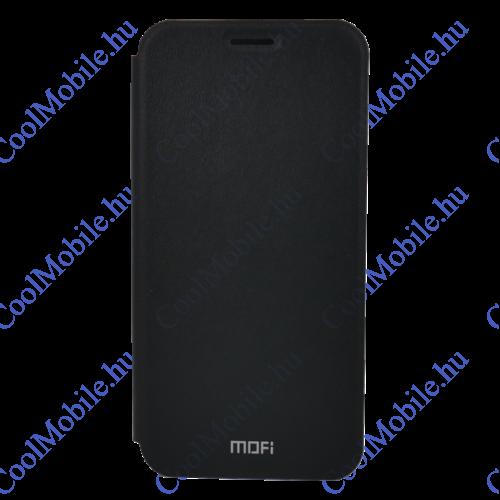 Mofi Mintás PU Bőr flip tok Apple iPhone XS Max, fekete