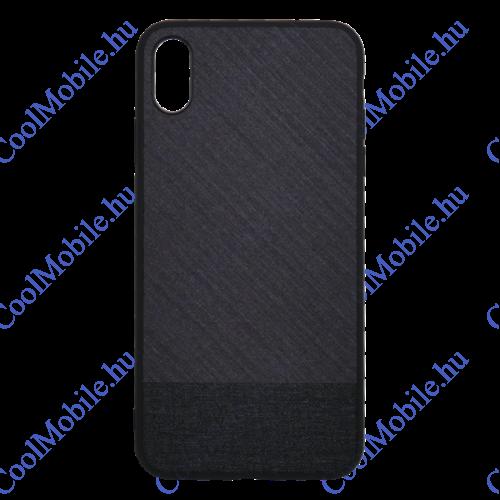 Mofi Mintás Szövet hátlap tok Xiaomi Redmi 6, fekete