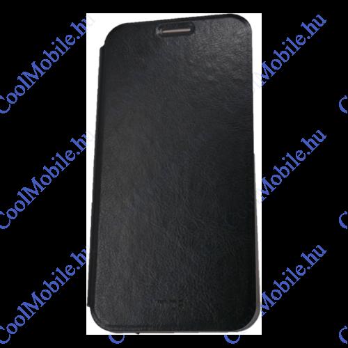 Mofi PU Bőr flip tok Mi A2 Lite/ Redmi 6 Pro, fekete