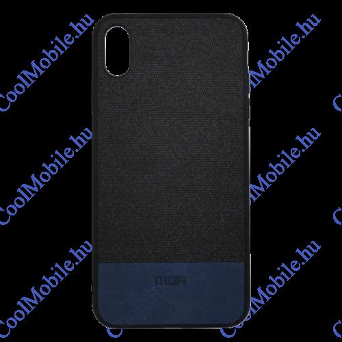 Mofi Szövet PU bőr hátlap tok Xiaomi Redmi 6A, fekete