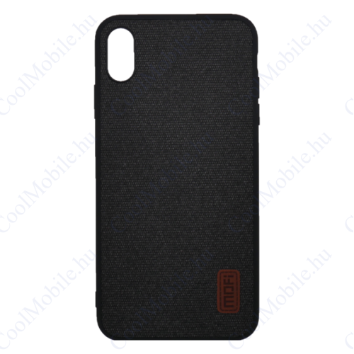 Mofi Szövet hátlap tok Xiaomi Pocophone F1, fekete