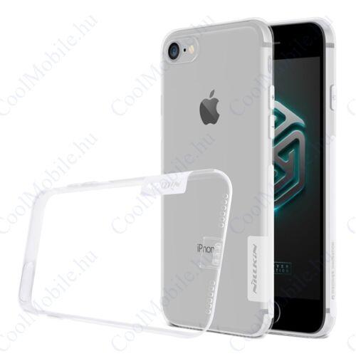 Nillkin Nature Apple iPhone SE (2020)/8/7, szilikon tok, átlátszó