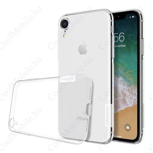 Nillkin Nature Apple iPhone XR, szilikon tok, átlátszó