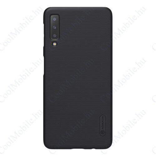Nillkin Super Frosted Samsung A750 Galaxy A7, műanyag tok, fekete