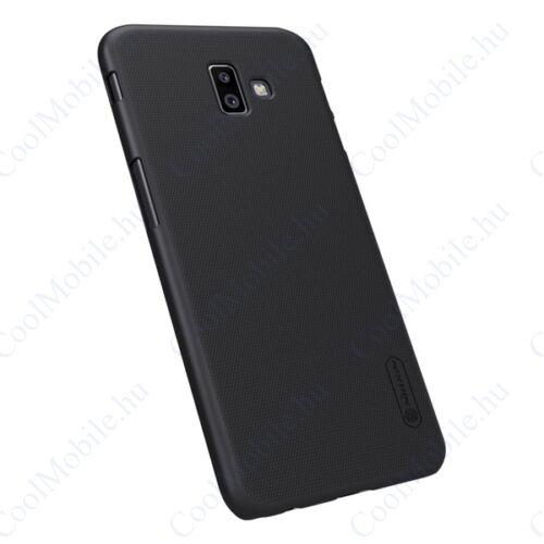 Nillkin Super Frosted Samsung J610 Galaxy J6+, műanyag tok, fekete