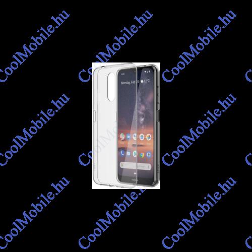 Nokia 3.2 gyári hátlap tok CC-132FP, átlátszó