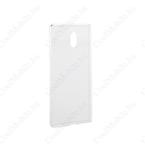 Nokia 4.2 ultra slim 0,3mm szilikon tok, átlátszó