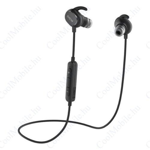 QCY QY19 sztereó bluetooth sport headset, fekete