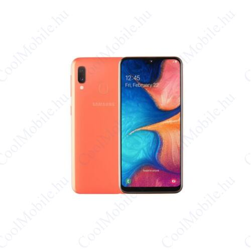 Samsung Galaxy A20e 32GB Dual A202 Mobiltelefon coral