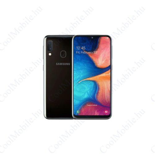 Samsung Galaxy A20e 32GB Dual A202 Mobiltelefon fekete
