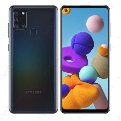 Samsung Galaxy A21S 32GB 3GB Dual (A217F) fekete, Gyártói garancia