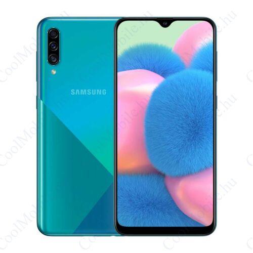 Samsung Galaxy A30s 128GB 4GB Dual, zöld, 1 év Gyártói garancia