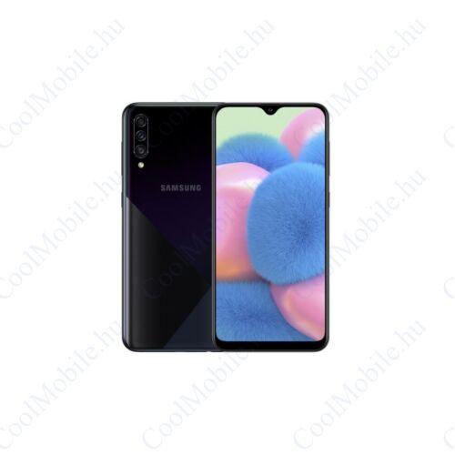 Samsung SM-A307FN-DS Galaxy A30s (2019) 64GB 4GB RAM, fekete, Kártyafüggetlen, 1 év Gyártói garancia