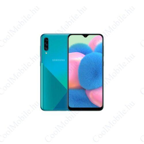 Samsung SM-A307FN-DS Galaxy A30s (2019) 64GB 4GB RAM, zöld, Kártyafüggetlen, 1 év Gyártói garancia
