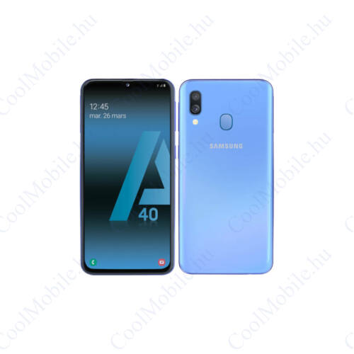 Samsung Galaxy A70 128GB 6GB RAM Dual A705 Mobiltelefon kék