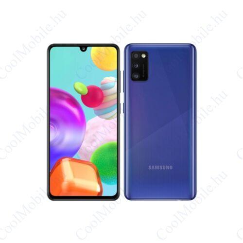 Samsung Galaxy A41 64GB Dual SIM, kék, Gyártói garancia