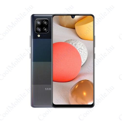 Samsung Galaxy A42 128GB 4GB Dual SIM, prizma fekete, Gyártói garancia