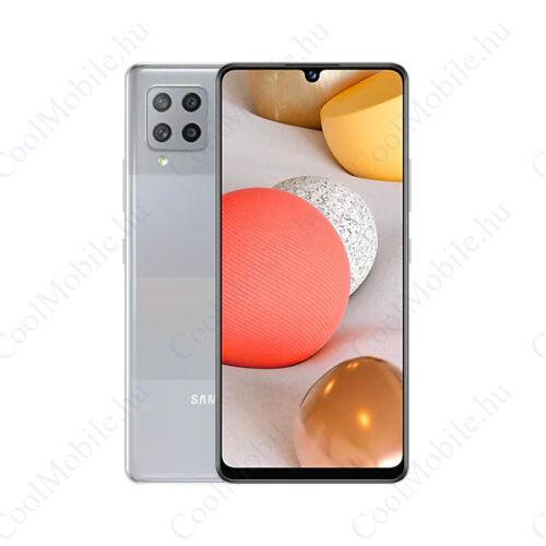 Samsung Galaxy A42 128GB 4GB Dual SIM, prizma szürke, Gyártói garancia