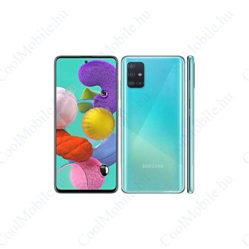 Samsung Galaxy A51, (A515) Dual Sim 128GB, kék, kártyafüggetlen, 1 év gyártói garancia