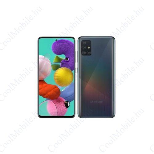 Samsung Galaxy A71, (A715) Dual Sim 128GB, fekete, kártyafüggetlen, 1 év gyártói garancia