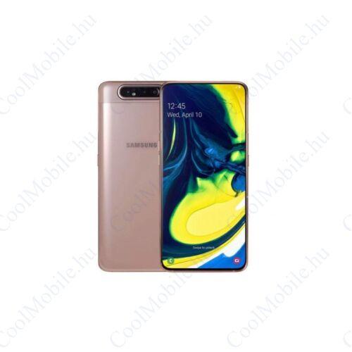 Samsung A80 A805F Dual 8Gb Ram 128GB arany, 1 év gyártói garancia
