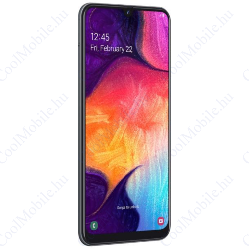 Samsung Galaxy A50, (A505) Dual Sim 128GB, fekete