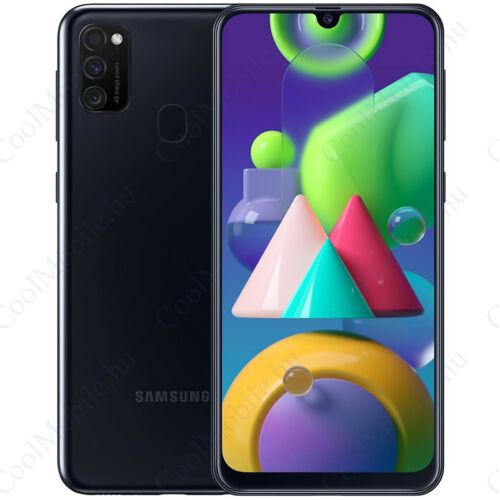 Samsung Galaxy M21 64GB 4GB Dual Hollófekete, 1 év gyártói garancia