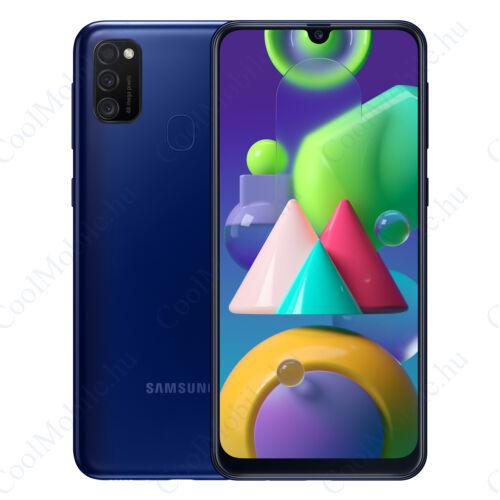 Samsung Galaxy M21 64GB 4GB Dual Éjkék, 1 év gyártói garancia