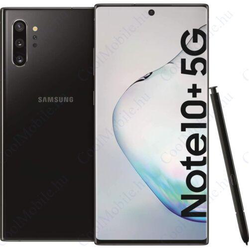Samsung Galaxy Note10+ 5G 256GB (N976), fekete, Gyártói garancia