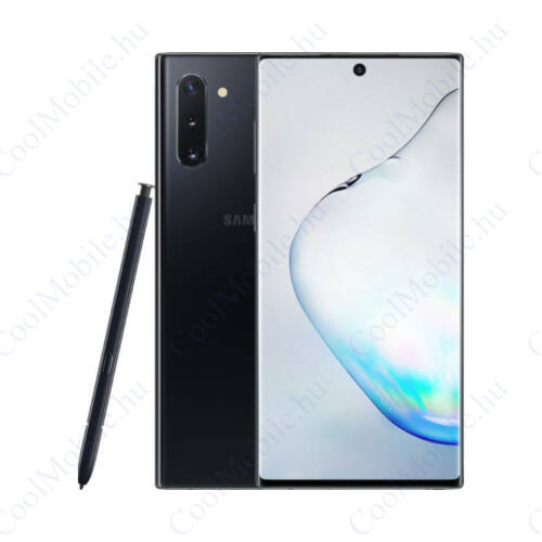 Samsung Galaxy Note 10 256GB Dual N970 Mobiltelefon fekete