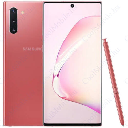 Samsung Galaxy Note 10 256GB Dual N970 Mobiltelefon pink