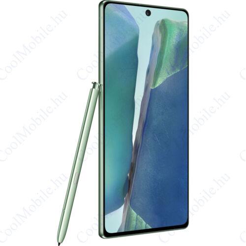 Samsung Galaxy Note 20 5G N981 256GB 8GB Dual zöld, Gyártói garancia