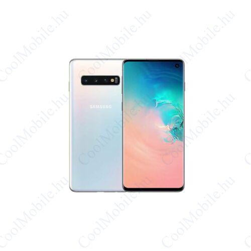 Samsung G973F Galaxy S10 128GB Dual Sim, fehér