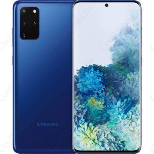 Samsung G985 Galaxy S20+ 128GB Dual Sim, aurakék, 1 év gyártói garancia