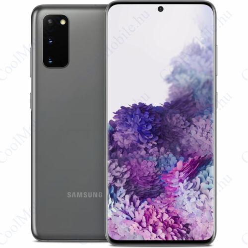 Samsung G985 Galaxy S20+ 128GB Dual Sim, kozmosz szürke, 1 év gyártói garancia