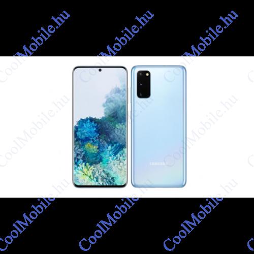 Samsung G980 Galaxy S20 128GB Dual Sim, kék felhő, Kártyafüggetlen, 1 év gyártói garancia