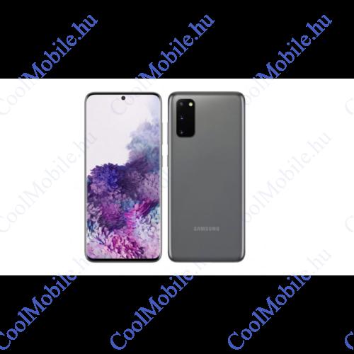 Samsung G980 Galaxy S20 128GB Dual Sim, kozmosz szürke, Kártyafüggetlen, 1 év gyártói garancia